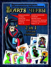 LEARN TO SPEAK ENGLISH. LANGUAGE CARD GAME +  WORKBOOK /Translation in Russian/