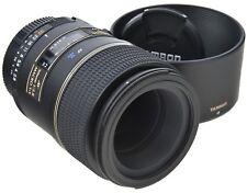 Nikon tamron sp 90mm 2.8 AF Di + Capucha