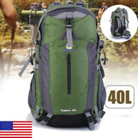 Outdoor Camping Hiking Explore 40L Backpack With Suspension System AOTU 40L USA!