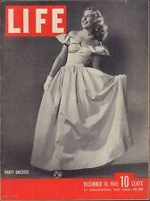 LIFE December 10,1945 Party Dresses / Nurnberg Trials / Margaret O'Brien