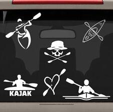 MP101 6ct. Kayak paddles Boat Canoe Rack Ski vest  River Lake decal car sticker