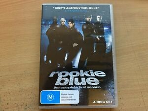 Rookie Blue Season 1 The First Series One Missy Peregrym (DVD 2010 4-Disc) R4 GC