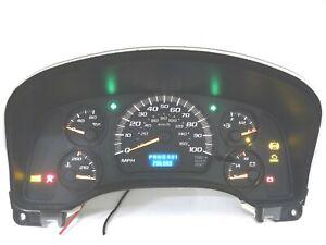 Instrument Speedometer Gauge Cluster 297K fits 2003 Express Savana Cargo Van GMC