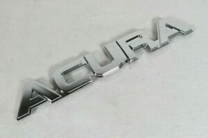 ACURA LEGEND INTEGRA VIGOR EMBLEM REAR TRUNK CHROME BADGE sign symbol logo name