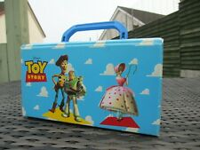VINTAGE Purpax Disney Toy Story - CASSETTE CARRYING CASE - Holds 10 Tapes - RARE