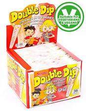 VEGAN SWEETS 36 X Swizzels Double Dip Original FACTORY SEALED BOX