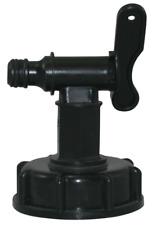 1000L IBC water tank heavy duty 1/2'' (15mm) garden hose valve adapter