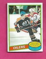 1980-81 TOPPS  # 250 OILERS WAYNE GRETZKY EX+ CARD (INV# D3965)