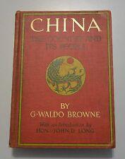 CHINA The Country and Its People 1901 Shanghai Hong Kong Canton