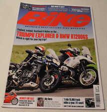 BIKE Sept 2012: Triumph Tiger Explorer, BMW R1200GS, R1200R, Casey Stoner