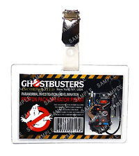 Ghostbusters Proton Pack ID Operator Permit Badge Cosplay Prop Costume Comic Con