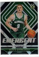 2018-19 Panini Prizm Donte DiVincenzo SP Silver RC Rookie Emergent Insert #17