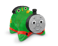 "PILLOW PETS PEE WEES Thomas & Friends 11"" Percy small engine AS SEEN ON TV New"