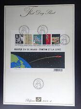 Firt Day Sheet FDS Tintin 2004  ETAT NEUF