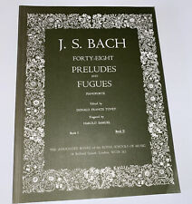 More details for j. s. bach forty-eight preludes and fugues - book ii - associated board - used