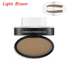Eyebrow Shadow Definition Makeup Brow Stamp Powder Palette Delicated Natural Top Light Brown