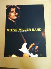 STEVE MILLER 2003 Retail PROMO POSTER for Young Hearts CD 12x24 NEVER DISPLAYED