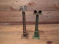 Vintage LOT Train Light Towers - RESTORATION or PARTS!