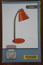 PHILIPS MASSIVE BAJOUR LAMPADA DA TAVOLO RINGO ALLUMINIO ARANCIONE 12923/01/32