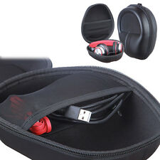 Hard Case Large BOX Bag Pouch for Beats Dre Detox Pro Over Studio 2.0 Headphons