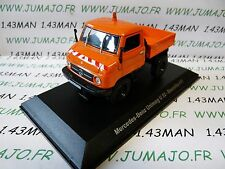DDR12 camion 1/43 test Allemagne UNIMOG : MERCEDES BENZ Unimog U 32 Baureihe 411