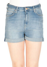 Lee Damen Jeans Short High Short -Blau - Urban Indigo