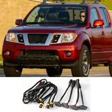 4x For Nissan Frontier 2005 2021 Grille Led Amber Light Raptor Style Grill Cover Fits 2011 Nissan Frontier