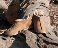 Australian Handcrafted Mens Ugg Slippers Merino Craft Sheepskin Boots