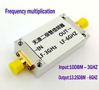 Frequency Multiplier Input 0.1~3GHz Output 13.25DBM-6GHz Frequency Doubler