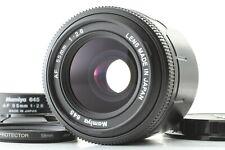 【 MINT w/ HOOD 】 Mamiya 645 AF 55mm f/2.8 Lens For 645AF Series from JAPAN #1142