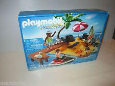 PLAYMOBIL SUMMER FUN 46 PIECE TOY SET #5992 HOLIDAY ISLAND BEACH SCENE