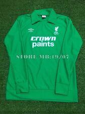 "Liverpool 1982 Goalkeeper Retro Shirt Green (Size L 44"")"