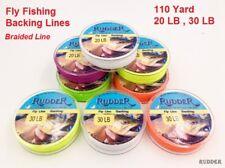 Rudder braided Fly Fishing Backing Line Leader Line 20Lb 30Lb 100 M 110 Yard