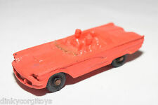 TOMTE LAERDAL VINYL 16 FORD THUNDERBIRD RED EXCELLENT CONDITION