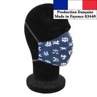 Masque protection Signes du zodiaque design de mode réutilisable barrière AFNOR