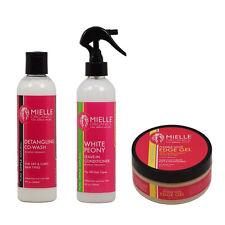 Mielle Organics Set: Co-Wash + Leave-In + Edge Control Gel