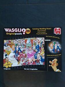 Wasgij - 1000 Piece Jigsaw - Original No 29 - Catching Wedding Fever!