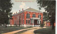 GREENSBORO, NC ~ GUILFORD COLLEGE, MEMORIAL HALL ~ used 1912
