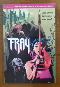 SIGNED FRAY Dark Horse Comics 2003 TPB GN OOP Buffy the Vampire by Karl Moline