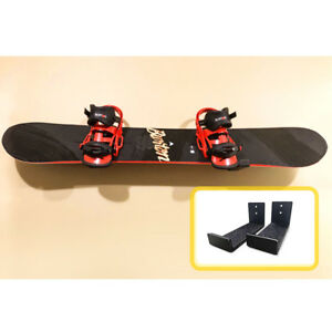 Aluminum Adjustable Snowboard Display Holder Wall Mount Rack (Set of 2)