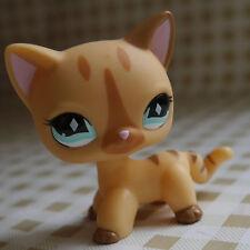 Pale Brown Short Hair Kitty Cat #886 LITTLEST PET SHOP LPS mini Action Figure