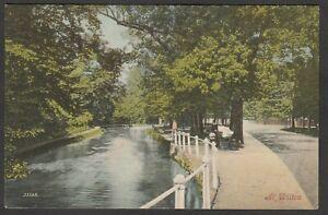 Postcard Wilton nr Salisbury Wiltshire posted 1905