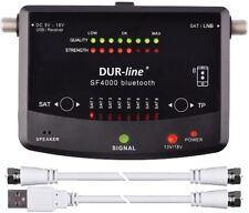 DUR-line® SF 4000 BT Satelliten SAT Messgerät Satfinder DVB-S DVB-S2 digital