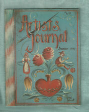ARTIST'S JOURNAL - Summer 1994 - Back Issue - Jo Sonja