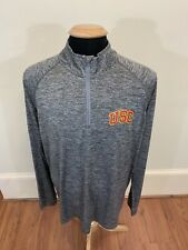 Under Armour NCAA USC Trojans 1/4 Zip Pullover Size Adult XL