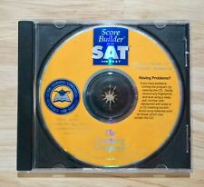 Score Builder for the Sat and Psat, Learning Company College Prep Series Cd-Rom