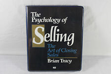 The Psychology of Selling: The Art of Closing 6-Cassette Study Course ~ Tracy