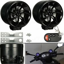 Motorcycle Anti Theft Alarm With LED MP3 Sound System 2 Speakers, MP3 FM Remote