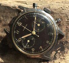1950s SS OVERSIZE MILITARE ZENITH cronografo impermeabile EP 143-6