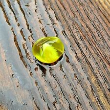 "Sea Glass  ""End Of Day Glass"" ~ Smaller Slag Nugget ~ YELLOWS: RARE COLORS!"